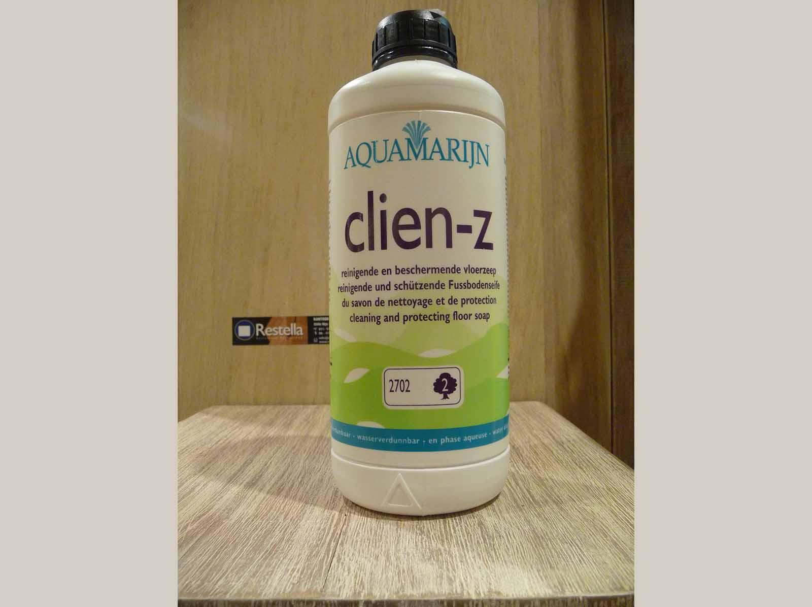 Clien-Z Blank Aquamarijn