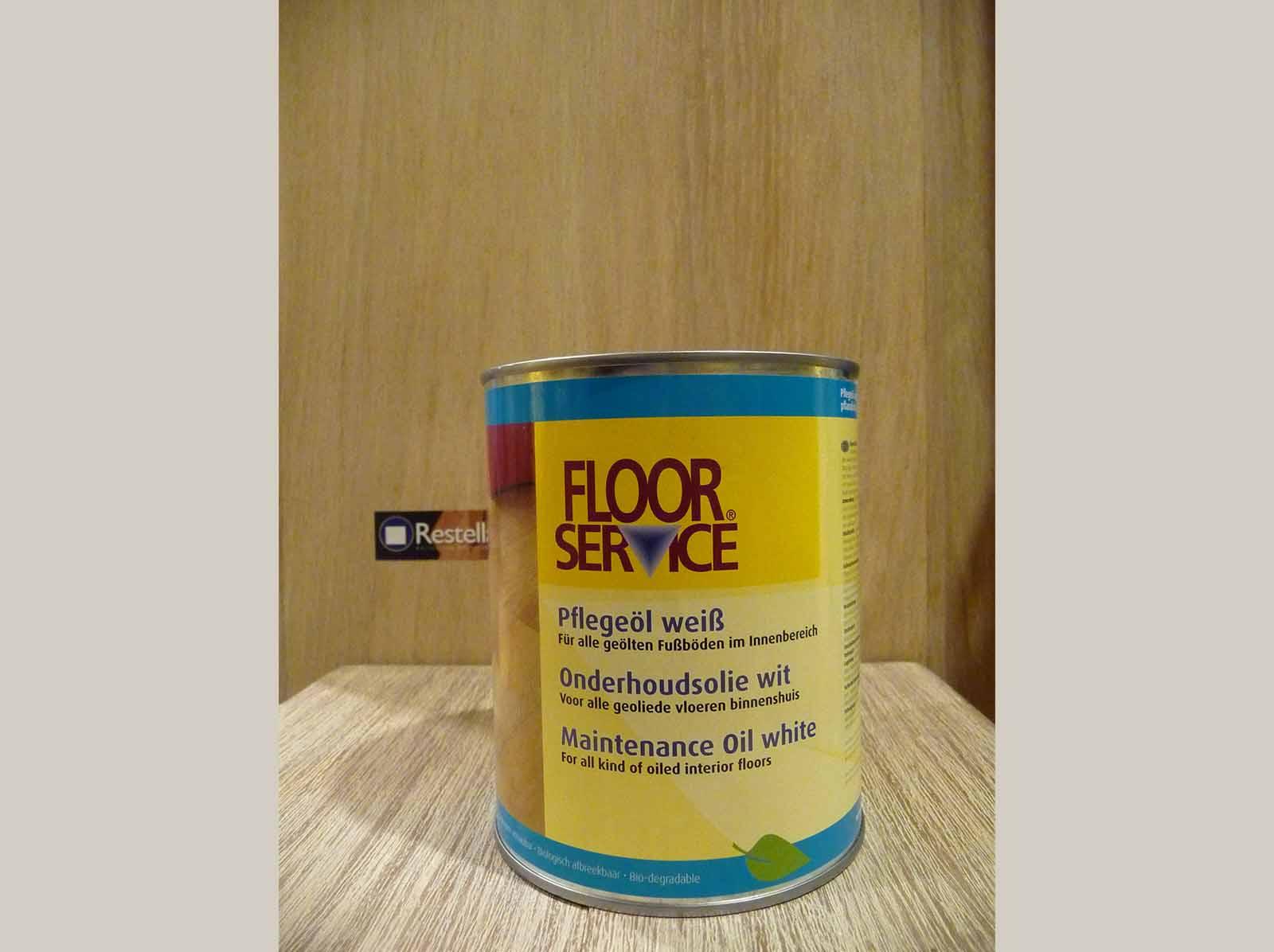 Onderhoudsolie wit Floorservice