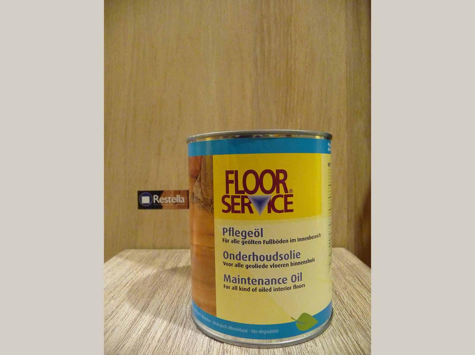 Onderhoudsolie naturel Floorservice