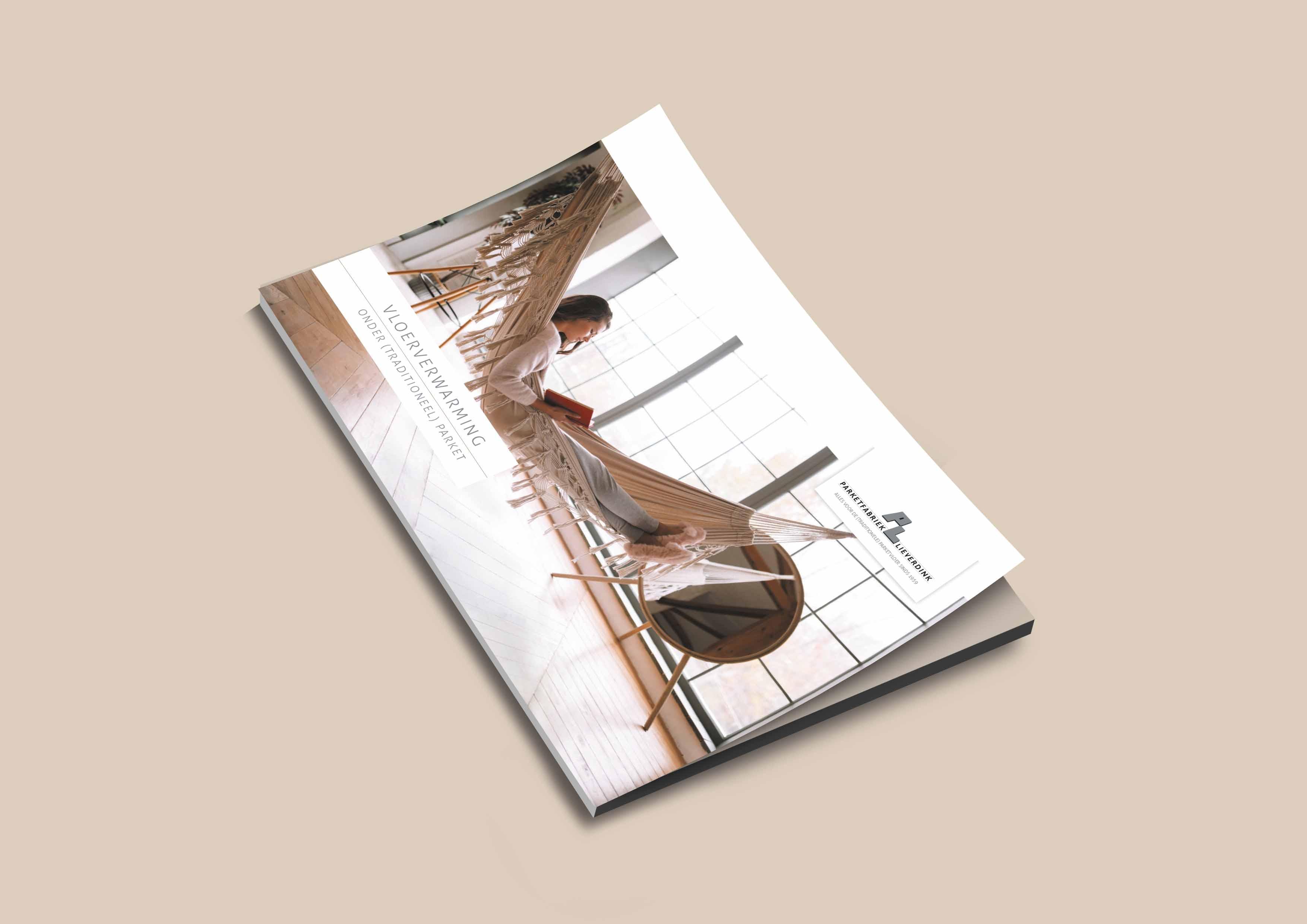 Vloerverwarming onder (traditioneel) parket